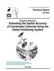 Estimating the Spatial Accuracy of Coordinates Collected Using the ...