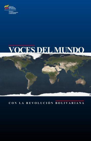 VOCES DEL MUNDO con la Revolución Bolivariana - Free News