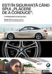 Supliment Noutăţi de Service BMW Descărcă aici