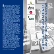 Programma 2013 - Comune di Modena