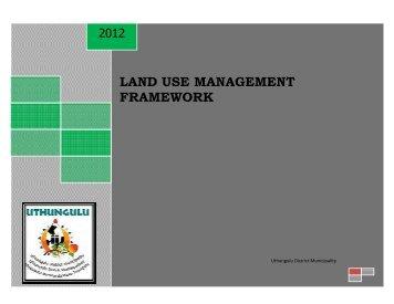 land use management framework - KZN Development Planning