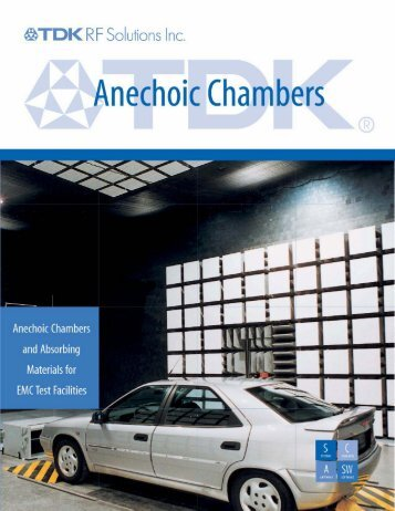 TDK Chambers and Absorber Materials
