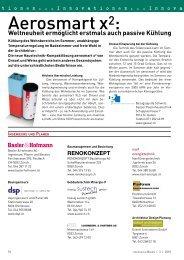 Führende Unternehmen im Kanton Zürich - Gerber Media