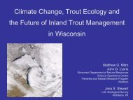 Climate Change, Trout Ecology and the Future of Inland Trout ...
