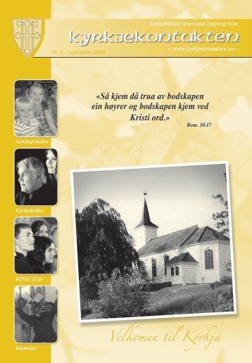 Velkomen til Kyrkja - Mediamannen