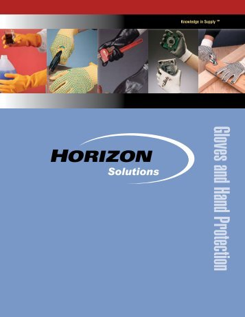 Gloves and Hand Protection - Horizon Solutions