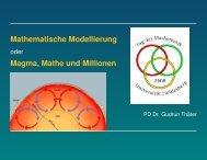 Mathematiker und Anwendungen