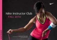 groupfitness - Nike Instructor Club