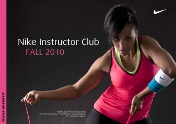 groupfitness - Nike Instructor Club