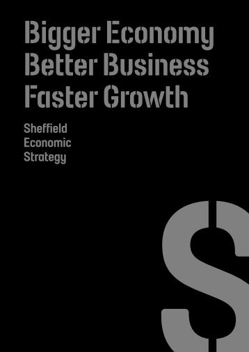 Sheffield Economic Strategy - Welcome to Sheffield
