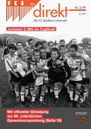 00 FCSdirekt 2/99 _02 - FC Solothurn