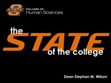 of the college the - College of Human Sciences