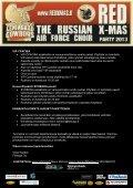 LENINGRAD COWBOYS RED X-MAS ASIAKASINFO ... - Festago - Page 4