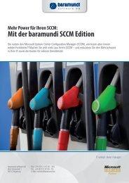 Mit der baramundi SCCM Edition - A+E Informatik GmbH