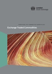 ETC Brochure - London Stock Exchange
