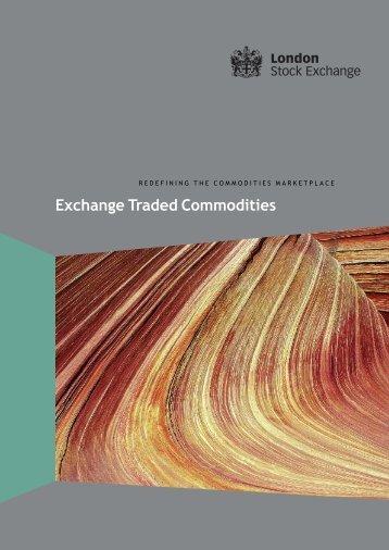 ETC Brochure - London Stock Exchange