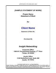 Consulting Schedule Template - Texas Department of Information ...