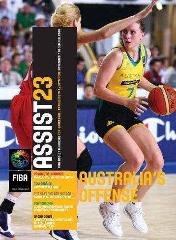 AUSTRALIA'S OFFENSE - GuyanaBasketball.com
