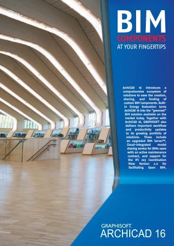ArchiCAD 16 Brochure - Graphisoft