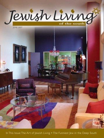 Jewish Scene Magazine June 2007