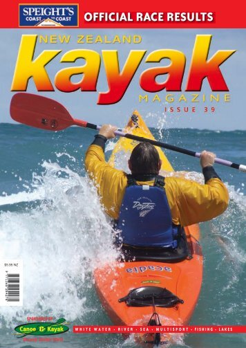 offiCial raCe results -  Canoe & Kayak