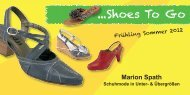 ...Shoes To Go - Marion Spath