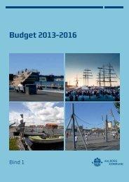 Budget 2013-2016 - Aalborg Kommune