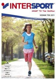 VODNIK TEK 2011 - Intersport