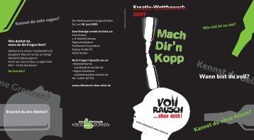 das Faltblatt zum Wettbewerb als PDF herunterladen. - Vollrausch ...