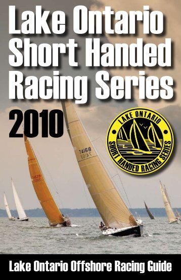 Lake Ontario Offshore Racing Guide - Lake Ontario 300