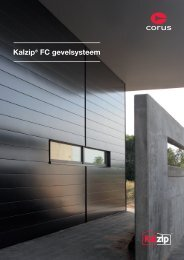 Kalzip® FC gevelsysteem - Architectura