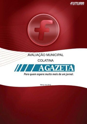 Avaliação Municipal COLATINA/ES - FuturaNet