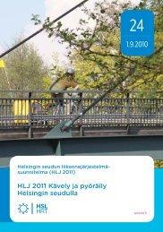 HLJ 2011 Kävely ja pyöräily Helsingin seudulla - Espoo