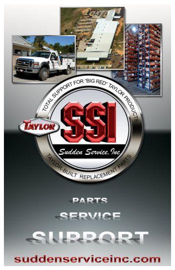 Sudden Service - Taylor Machine Works