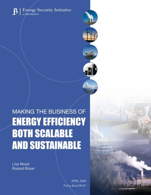 energy efficiency both scalable and sustainable - Institute for Electric ...