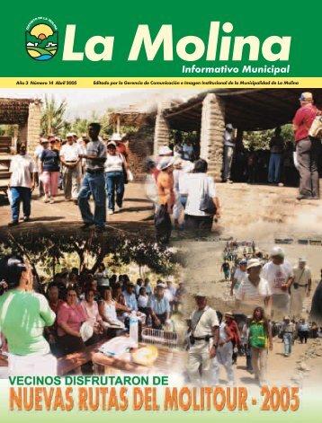 Informativo Municipal - Municipalidad de La Molina
