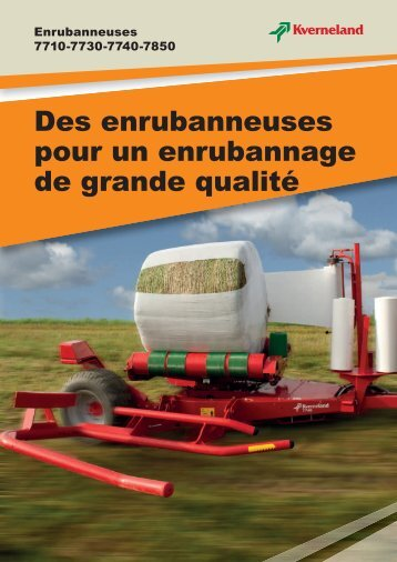 Enrubanneuse - Jacopin Equipements Agricoles