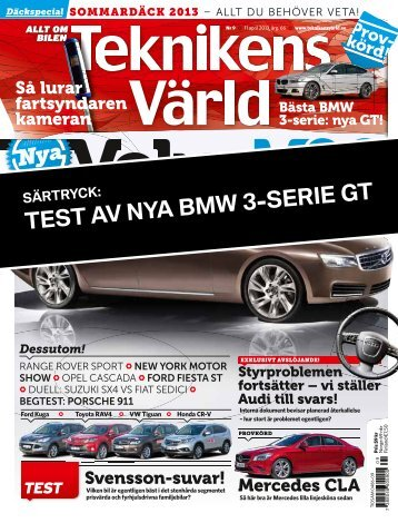 TEST AV NYA BMW 3-SERIE GT