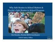 SRTS — Pat Pieratti - Florida Bicycle Association