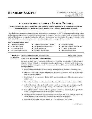 merchandise planner and buyer resume pdf version workbloom