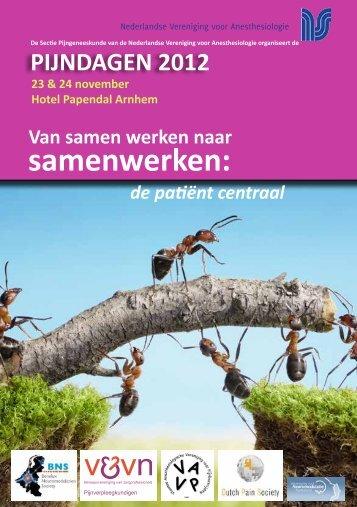 samenwerken: - Nederlandse Vereniging voor Anesthesiologie