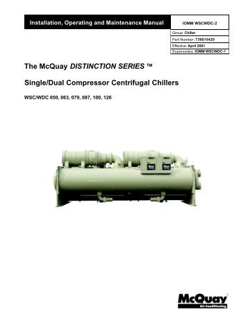 Mcquay chiller parts diagrams wiring diagrams wsc wdc product manual mcquay wsc wdc installation manual mcquay mcquay chiller parts diagrams cheapraybanclubmaster Choice Image