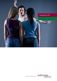 Semesterbericht 2009 - Nationale Suisse Group