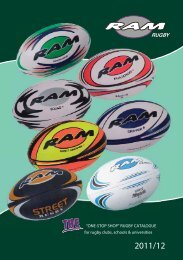 """ONE-STOP SHOP"" RUGBY CATALOGUE - www.ramrugby.ie"