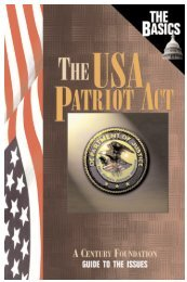 The USA Patriot Act .pdf - Intro to Crow Healing Network