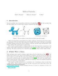 PDF - Balloon Polyhedra - Erik Demaine