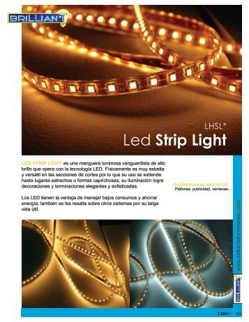 Led Strip Light - Brillante Iluminación