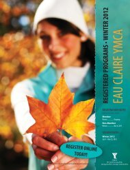 EAU CLAIRE YMCA - YMCA Calgary