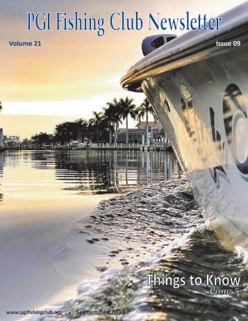 Volume 21 Issue 09 - Punta Gorda Isles Fishing Club