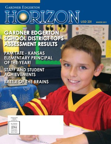 Horizon, Winter 2011 - USD 231 - Gardner-Edgerton School District